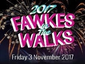 Fawkes in the Walks at The Walks